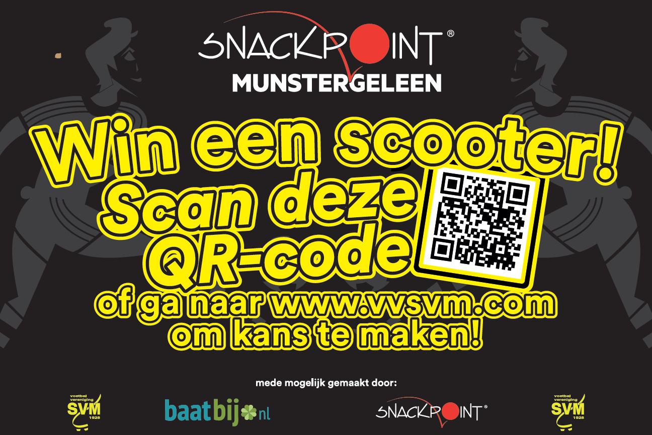 Neem deel aan de SVM loterij en maak kans op een scooter!